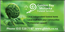 GOLDEN BAY MOTUEKA FUNERAL SERVICES